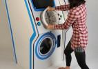 可以玩游戏的投币洗衣机