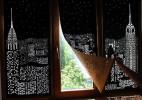 独特别致的镂空窗帘HoleRoll创意设计