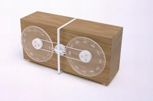 意大利设计师Alessandro Zambelli设计的时钟