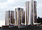 俄罗斯Roman Vlasov的概念办公楼建筑设计