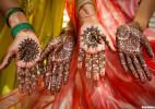 印度 皮肤彩绘涂饰