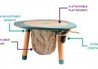多用途儿童趣味玩耍桌[MU]Table