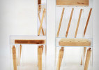 Joyce Lin设计的透明结构椅子Exploded
