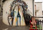 24个创意街头艺术作品欣赏