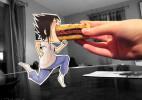 法国艺术家Lowra--逃到现实的纸片人