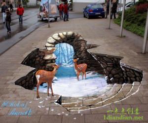 30个惊人的街头3D艺术作品