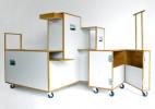 手推车衣柜Trolleys Closet创意设计