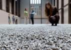 一亿颗陶瓷瓜子铺成的展厅地面