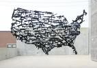Michael Murphy 气球枪支泛滥创意艺术装置新作