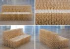 8000双筷子做成的可伸缩沙发