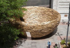 10000块木板打造的鸟巢