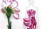花的嫁纱:美醉你的花瓣时装秀