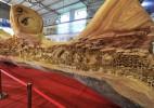 世界上最长的木制雕塑