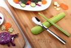 台湾设计工作室ArtiArt的便携勺筷套装