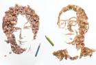 Kyle Bean 铅笔屑作画(视频)
