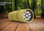 Jordan Koroknai设计的创意竹子手电筒