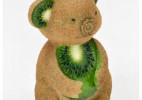 精美的水果动物雕塑