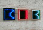 Cascade设计的几何形状霓虹灯