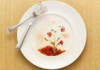 餐盘上的食物景观