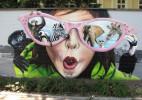 大气的西方街头涂鸦艺术