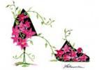 15款史上最美的鲜花高跟鞋