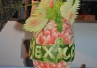 30个精美的西瓜雕塑