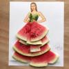 以水果变服装艺术