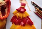 当美食遇到艺术家---最美的蔬菜裙子