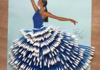 史上最漂亮的棉签裙子