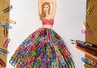 当回形针遇上艺术家----回形针裙子