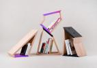 极具活力的可拆分式书架