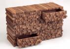 复古风创意木橱柜设计