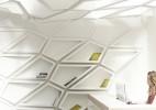模块化创意艺术书架