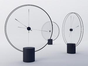 Yicong Lu设计的一款极简主义时钟