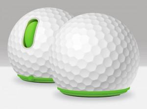 创意高尔夫球造型鼠标