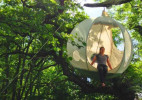 创意空中球形帐篷