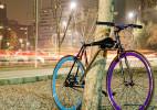"""自带""""车体框架锁""""的自行车yerka"""