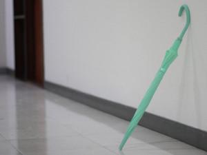 伞柄可随意变形的趣味雨伞