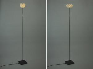 可开合式花型落地灯(Cynara SLS)