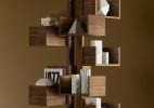 创意个性独立书柜(Albero)