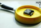 平底锅造型个性挂钟——时乐锅