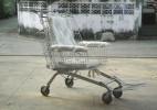 购物车改装的简便轮椅