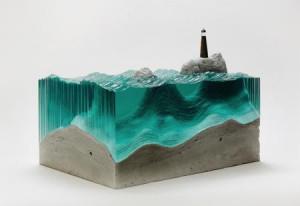 令人叹为观止的玻璃海洋
