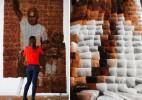 2万个茶包拼成的拉茶师傅画像