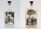 玻璃瓶里烟熏艺术