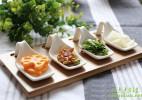 川岛屋创意小吃碟餐具设计