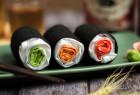 寿司纹理的塑料袋