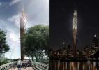 200多米的观光木塔