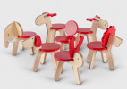 可爱的小动物座椅