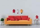 墙上或桌上均可用的闹钟
